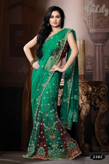 latest designer sarees 2016